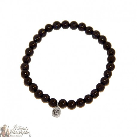 Bracelet en perles de blue sand