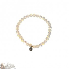 Bracciale in perline opaline