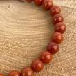 Natural red jasper bracelet