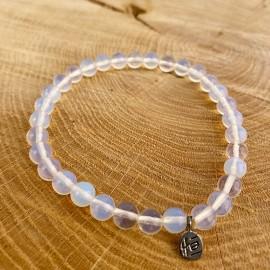 Opaline pearl bracelet