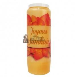 Halloween orange novena candle - Samhain