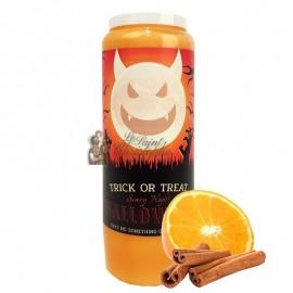 Vela de la novena de Halloween con aroma a naranja y canela - Trick or Treat