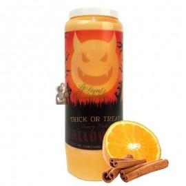 Vela de la novena de Halloween con aroma a naranja y canela - Trick or Treat 2