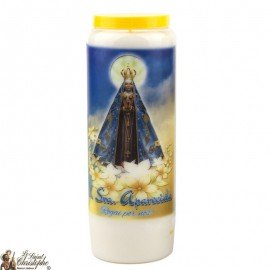 Novena Candle to Our Lady Aparecida - French Prayer