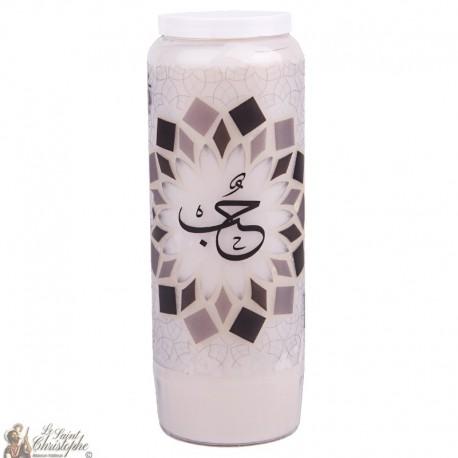 Liebe dekorative Kerze - Arabisch Modell 3