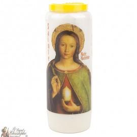 Bougie Neuvaine  à Sainte Marie-Madeleine -prière français