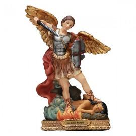 Statue Saint Michel - 22cm