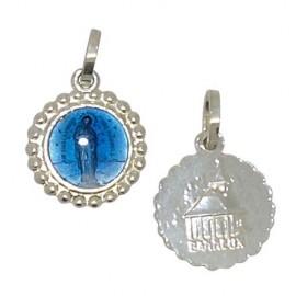 Médaille Vierge de Banneux émaillée