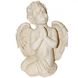 Ange à genoux priant