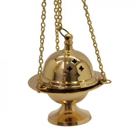 Encensoir en cuivre avec chainette