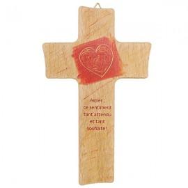 Croix en bois pour mariage