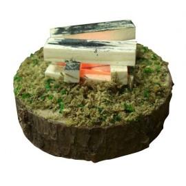 Lichtgevend led houtvuur - 7 cm