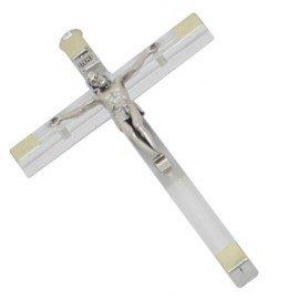 Croix plexiglas transparent