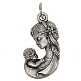 Médaille Vierge marie à l'enfant
