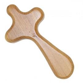 Croix en bois d'olivier - 9 cm