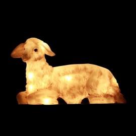 Sheep light for Christmas crib - 44 cm