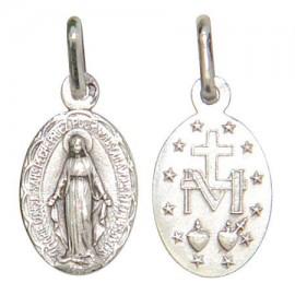 Miraculous Virgin Medal silver 925