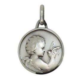 Angel Medal - Silver 925