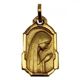 Médaille Vierge des Pauvres Banneux N.D