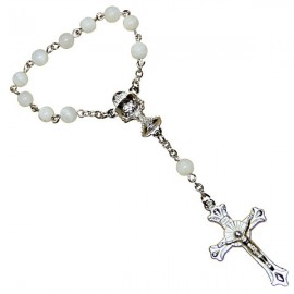 Decine di rosario di madreperla