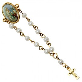 Brooch rosary Appearance of heavy