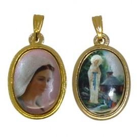 Médaille Vierge des Pauvres de Banneux et Medjugorje