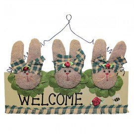 Welcome plaque Small Rabbits