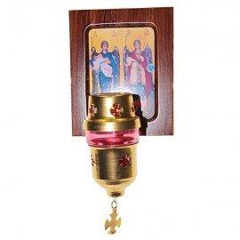 Cadre Icone lampe grecque - orthodoxe