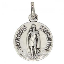 Medal Saint Expedit silver 925