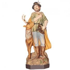 San Huberto - Estatua -22 cm