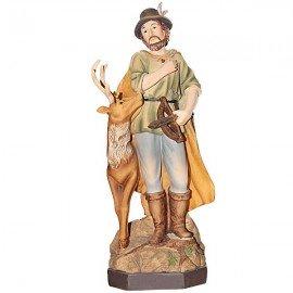 Statue Saint Hubert - 20 cm