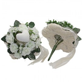 Fleurs blanche - stick
