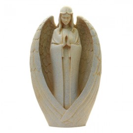 Angel stone resin - statue
