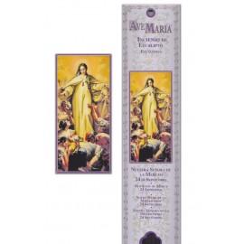 Pochette encens - La Vierge de la Merci - 15 pces