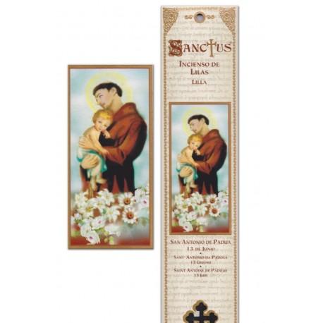 """Pochette encens """"Saint Antoine"""" - 15 pces - 60gr"""