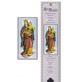 Sacca per incenso - Vergine Maria Ausiliaria - 15 pezzi
