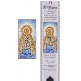 Pochette encens - Vierge de Regla - 15 pces