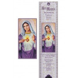 Incense pouch - Sacred Heart of Mary - 15 pieces