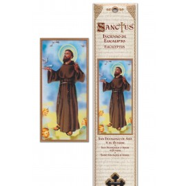 Incense pouch - Saint Francis of Assisi - 15 pieces