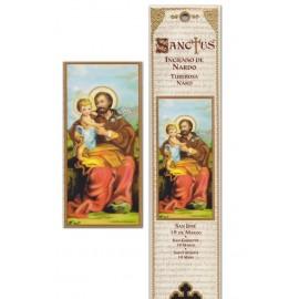 Pochette encens - Saint Joseph - 15 pces