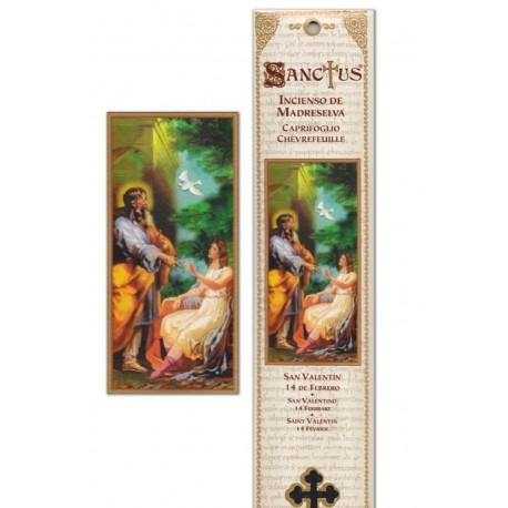 """Pochette encens """"Saint Valentin"""" - 15 pces - 60gr"""