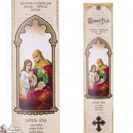 Pochette encens - Sainte Anne - 15 pces - 60gr