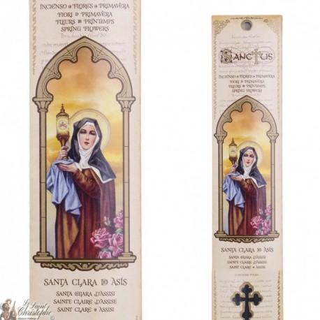 Pochette encens - Sainte Claire - 15 pces - 60gr