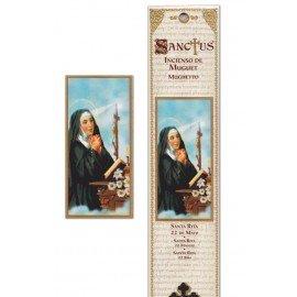 Pochette encens - Sainte Rita - 15 pces