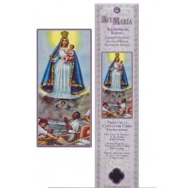 Incense pouch - Virgin del cobre - 15 pieces