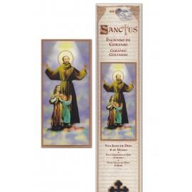 Incense pouch - San Juan de Dios - 15 pieces