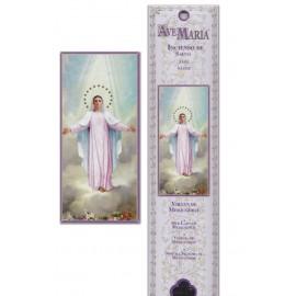 Pochette encens - Vierge de Medjugorge - 15 pces