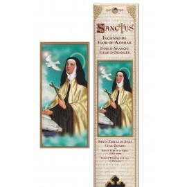 Pochette encens - Sainte Thérèse d' Avila - 15 pces