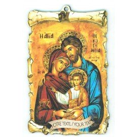 Cadre mural Icone de la Ste Famille