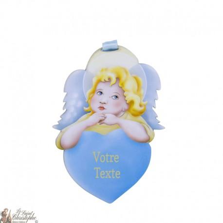 Ange protection Bébé plaque murale